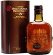 Buchanan&#146;s Scotch Deluxe 18 Year
